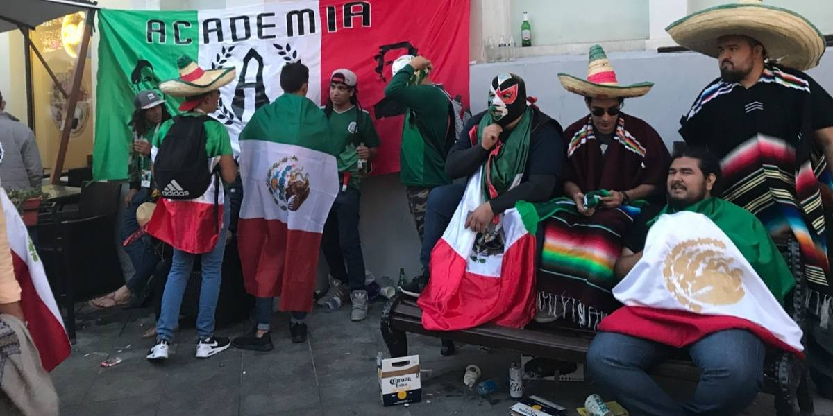 VIDEO: Mexicanos en Rusia dan sabor a la Plaza Roja
