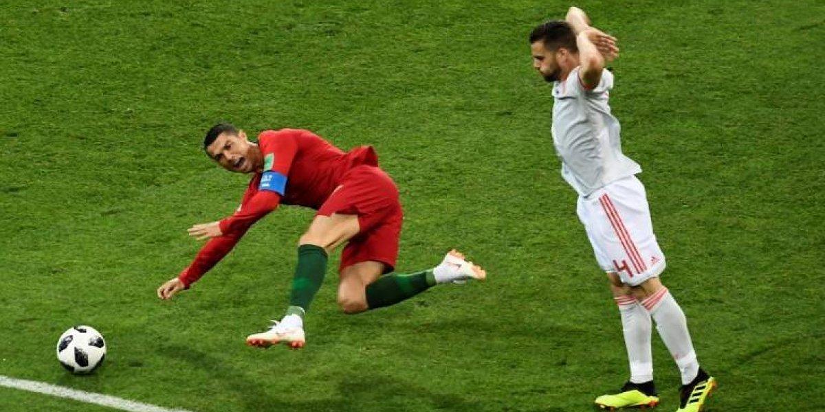 Las redes arden con el penalti de Cristiano Ronaldo en su debut en el Mundial