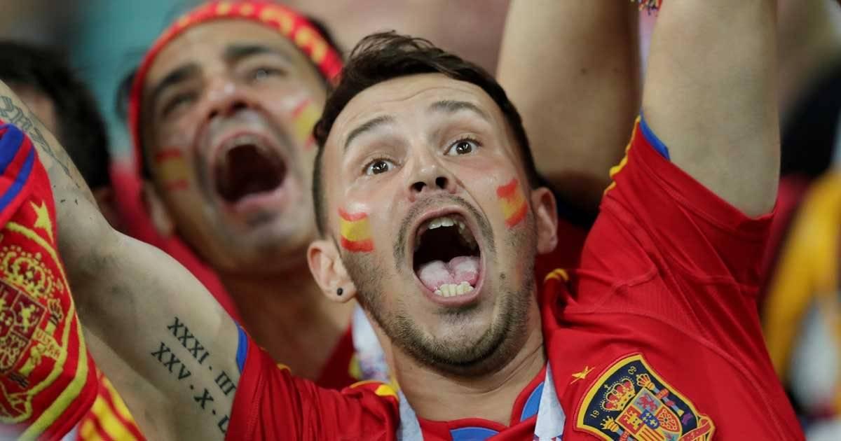 Torcedor da Espanhal REUTERS/Ueslei Marcelino