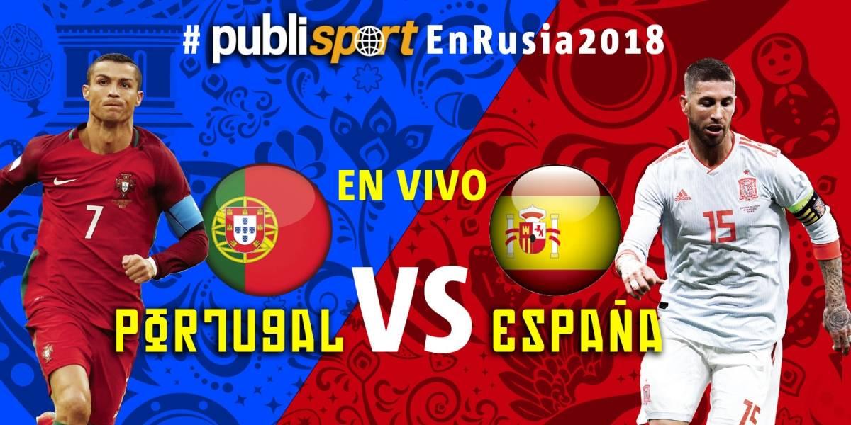 Portugal 3-3 España con Hat-Trick de Cristiano Ronaldo