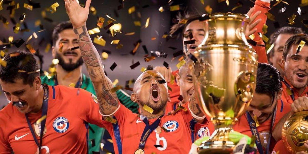 Vidal disparó contra la Selección Argentina