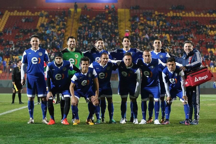 Canales se despidió del fútbol en Santa Laura / Foto: Agencia UNO