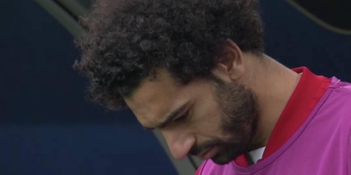 Lesionado y sufriendo con la garra charrúa: El doloroso cumpleaños de Salah en el debut de Egipto en Rusia 2018