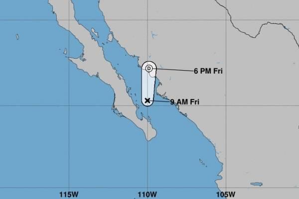 Tormenta Bud sigue su paso hacia el Golfo de California