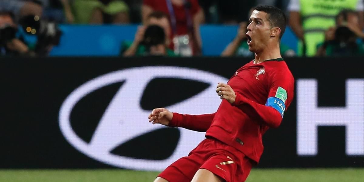 Cristiano Ronaldo cuarto jugador que anota goles en cuatro mundiales