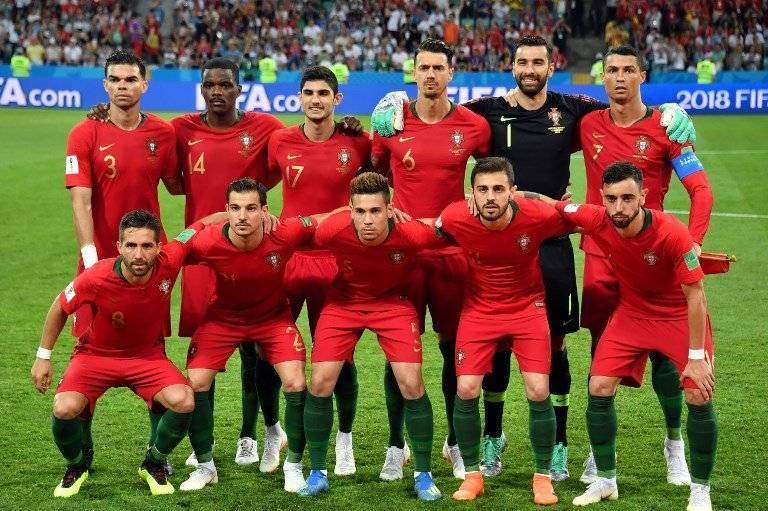 Esta fue la selección de Portugal ante España