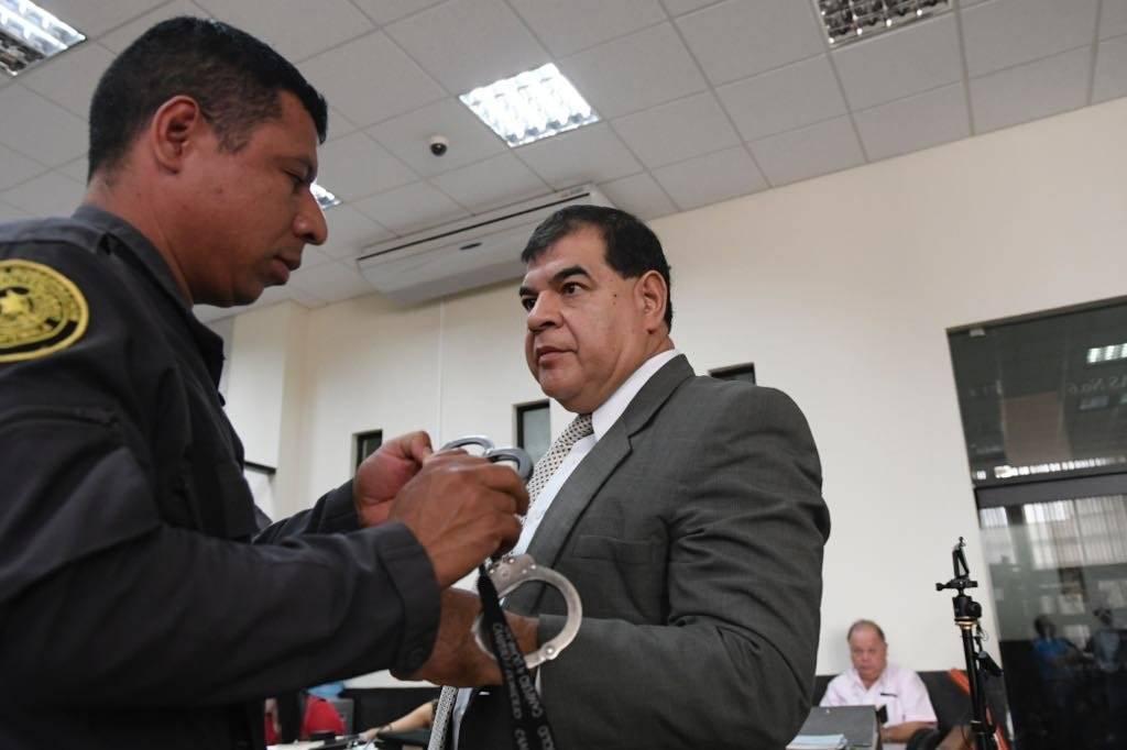 """Sindicados en el caso """"Manipulación de justicia"""". Fotos: Omar Solís"""