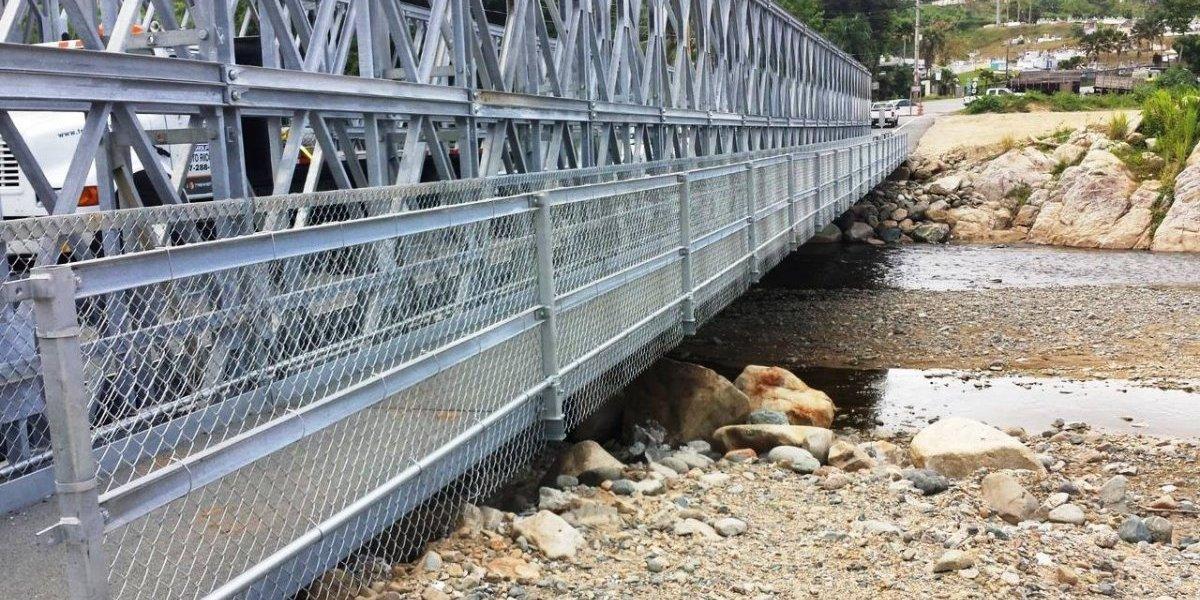 Inauguran tercer puente modular en Utuado