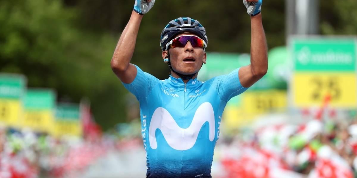 ¡El 'Cóndor' voló en los Alpes! Nairo Quintana ganó la etapa reina de la Vuelta a Suiza