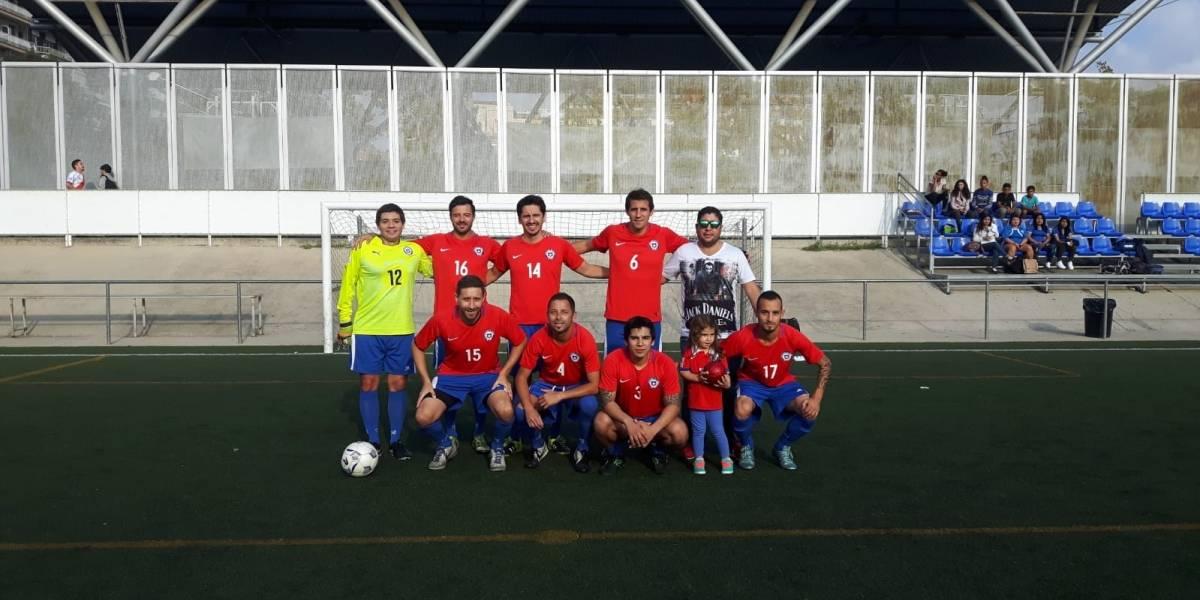 """¡En este Mundial sí estamos! La Roja de Fútbol 7 va por la gloria en Barcelona con """"Claudio Bravo"""" y un ex UC a la cabeza"""