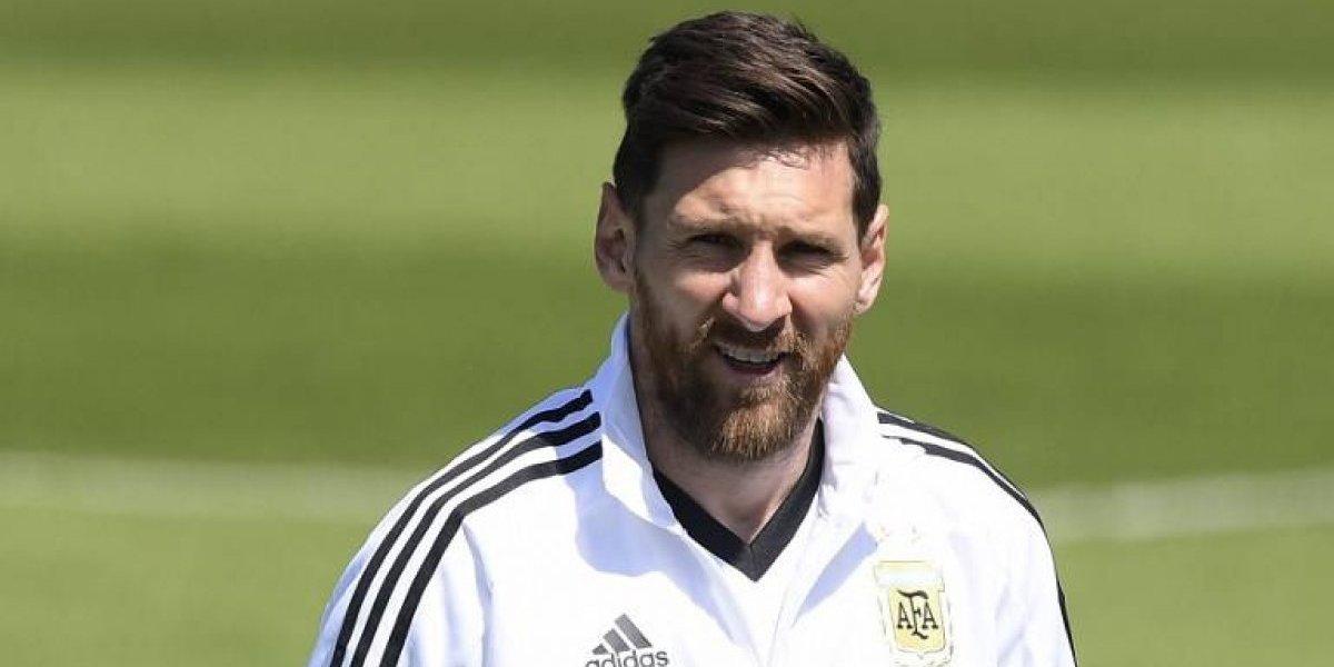 El gran gesto que tuvo Messi con sus fanáticos a su llegada al Mundial de Rusia