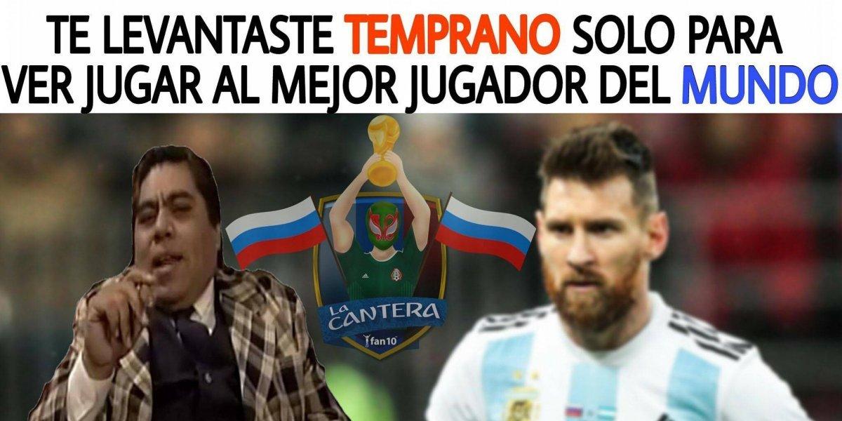 Los mejores memes del empate entre Argentina e Islandia