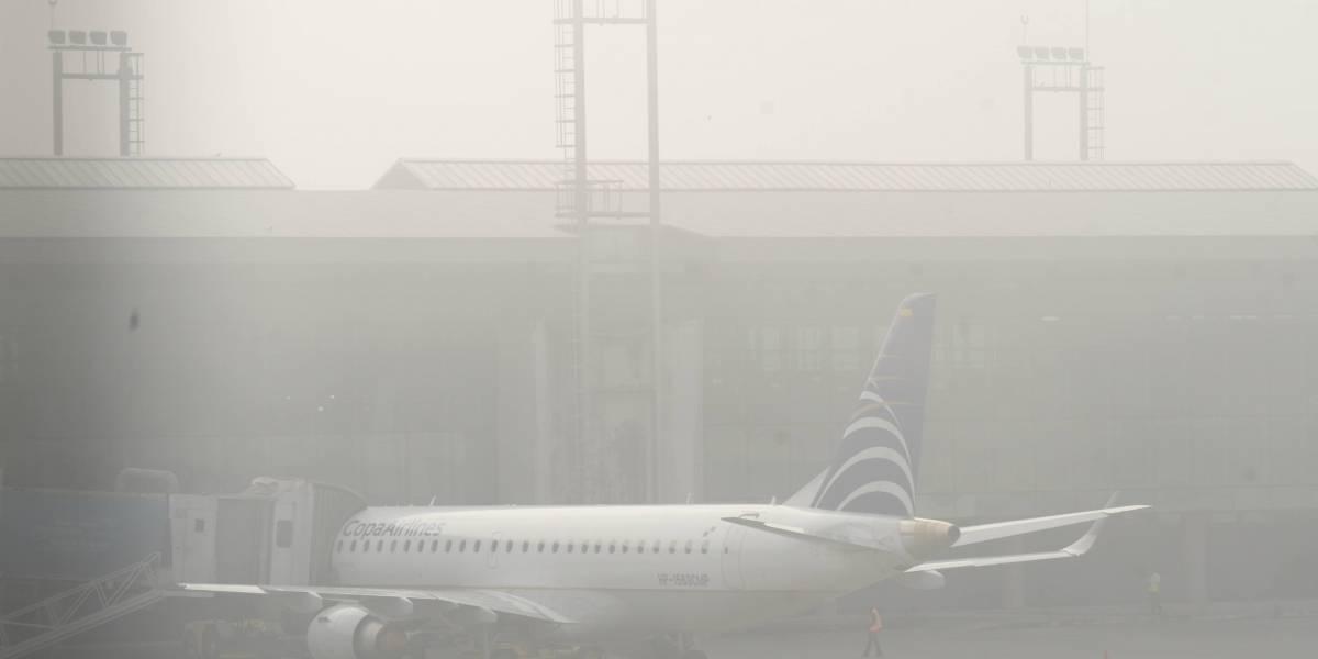 Aeronáutica Civil suspende vuelos por neblina en la ciudad