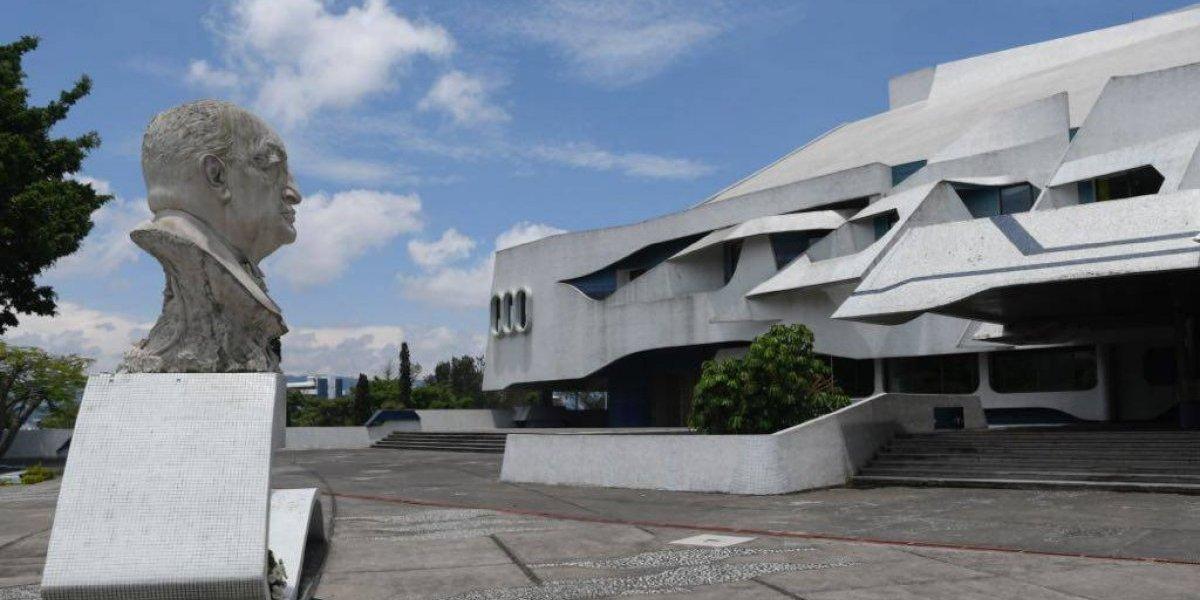 EN IMÁGENES. La impresionante estructura del Teatro Nacional que hoy cumple 40 años