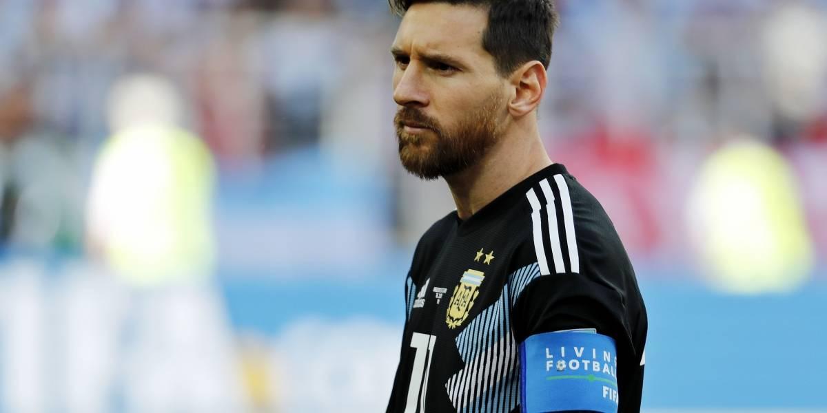 El humilde gesto de Lionel Messi previo al debut frente a Islandia