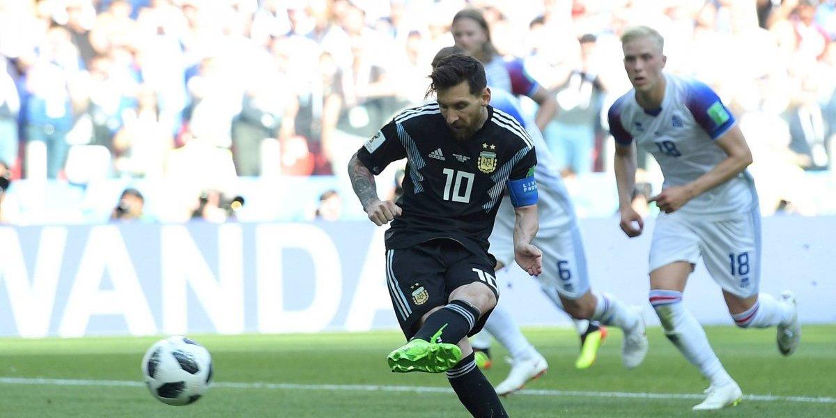 ¡Ronaldo sí, Messi no! Leo no pudo de penal y se derrumbó