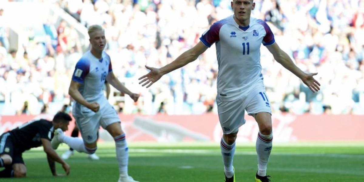 ¡Histórico! Islandia marca su primer gol en los Mundiales