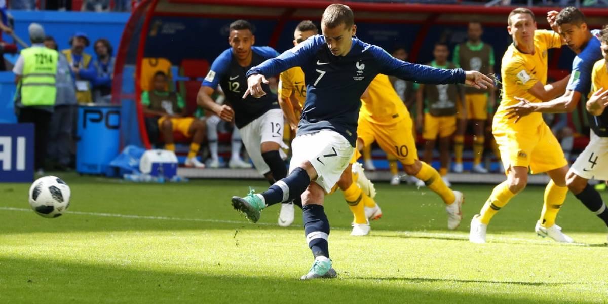 VAR, protagonista en victoria de Francia 2-1 sobre Australia