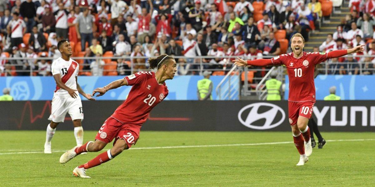 Rusia 2018: Perú jugó como nunca ante Dinamarca, pero pagó sus errores y perdió como casi siempre