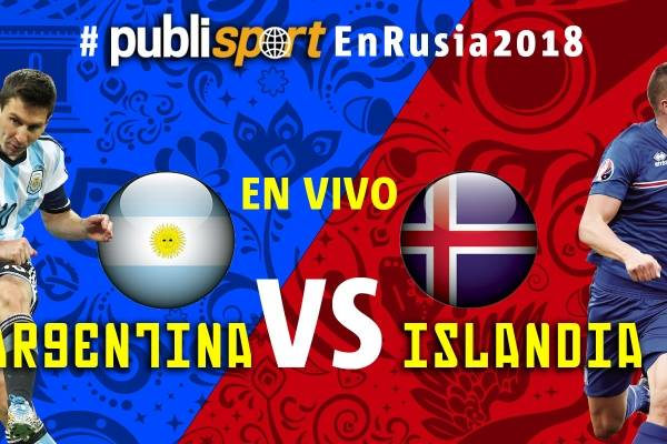 Argentina vs Isalandia