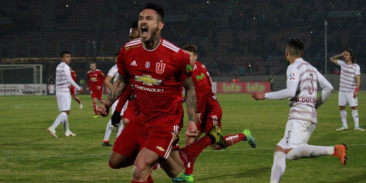"""Mero trámite: la """"U"""" no necesitó mucho para derrotar a La Serena por Copa Chile"""