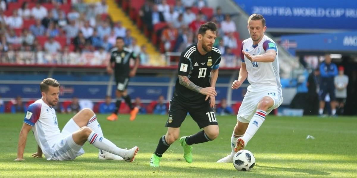 Las mejores imágenes del empate entre Argentina e Islandia