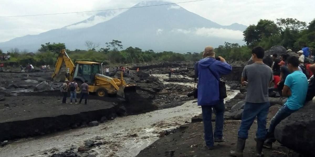 Caminos busca empresas para reconstrucción de vías por tragedia del volcán de Fuego