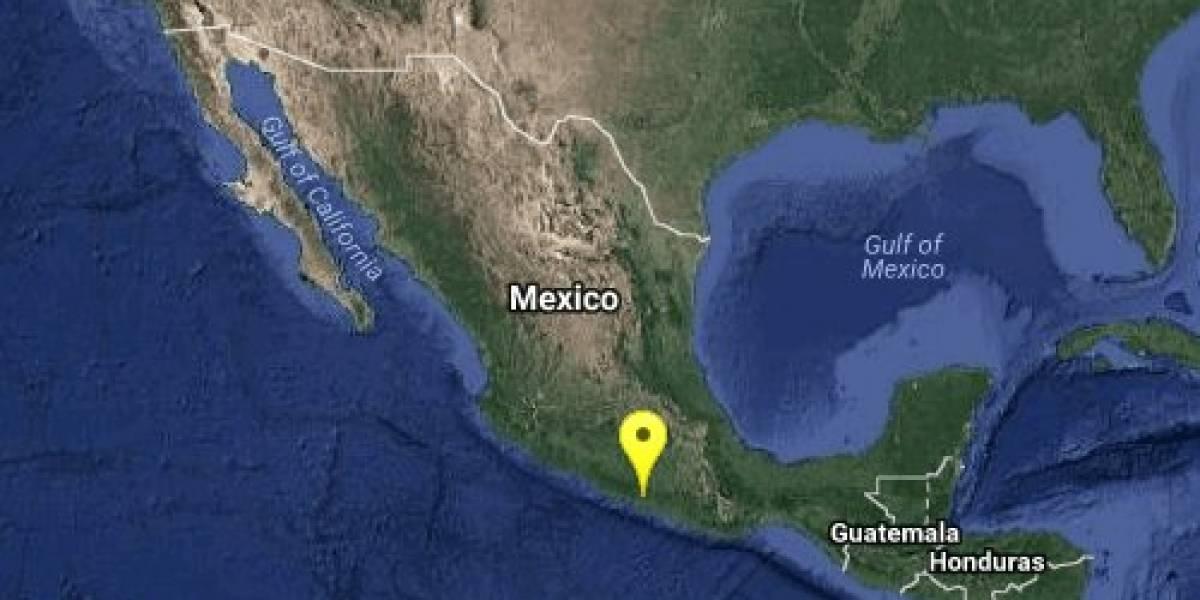 Se registra sismo de 5,9 en  Ciudad de México