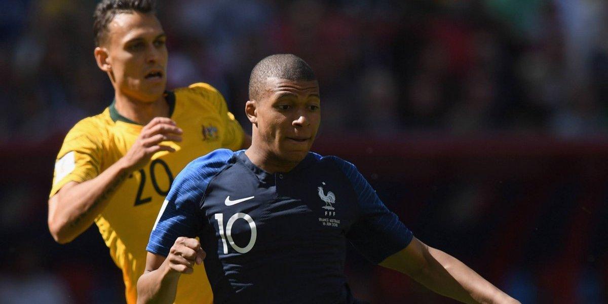 Francia estrena el VAR en el Mundial en su victoria ante Australia