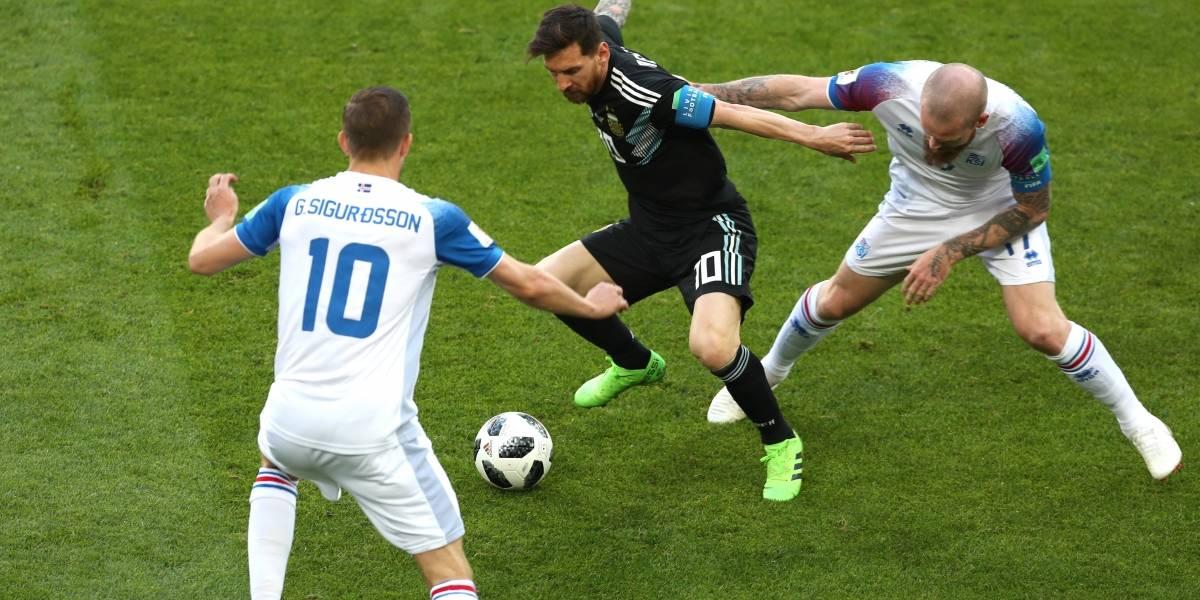 Así vivimos el discretísimo empate de Argentina frente a Islandia en su debut en Rusia 2018