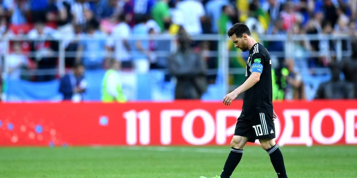 ¡Papelón! Ni Argentina ni 'el enano' estuvieron a la altura de Islandia