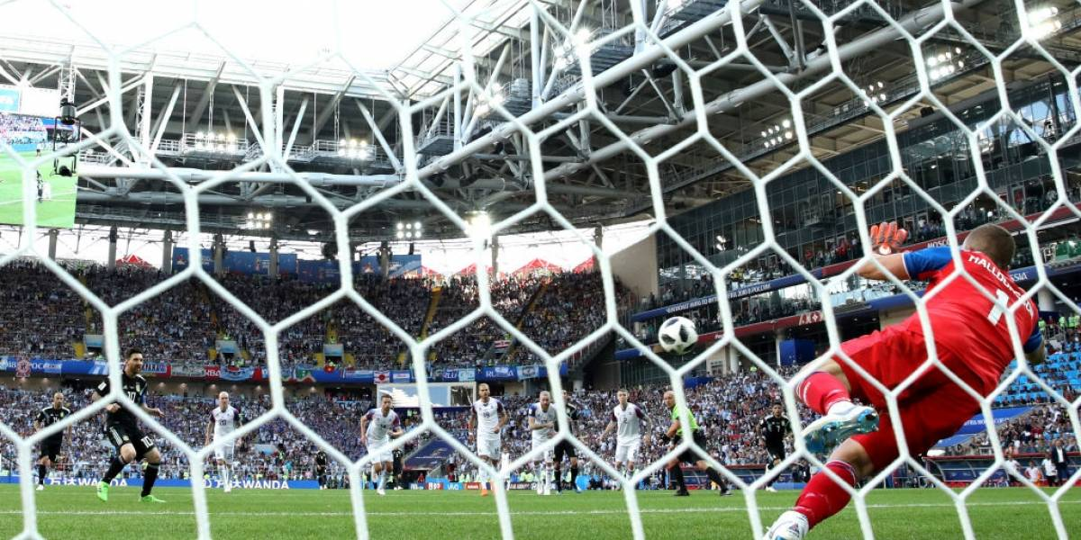 Como contra Chile: Messi revivió la pesadilla de los penales ante Islandia