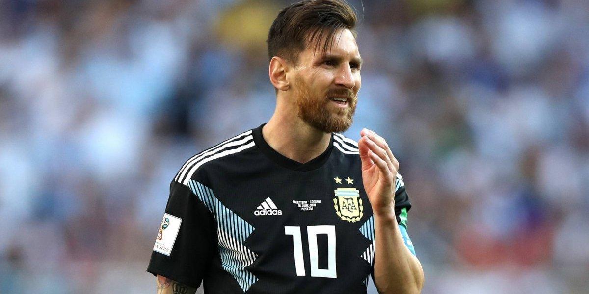 VIDEO: Así fue como Messi falló el penal ante Islandia