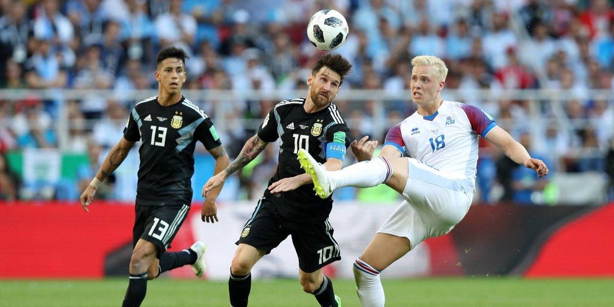 Islandia consigue empate histórico ante Argentina en Rusia 2018