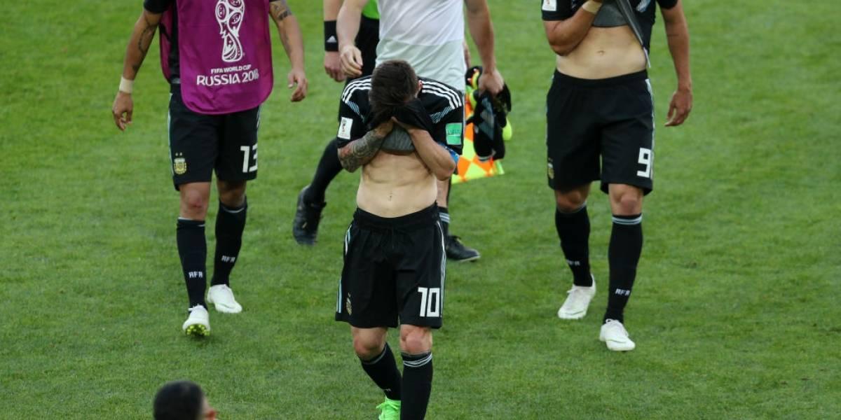 """""""¡Qué penal!"""" y """"decepcionante"""": la prensa argentina es un funeral tras empate con Islandia"""