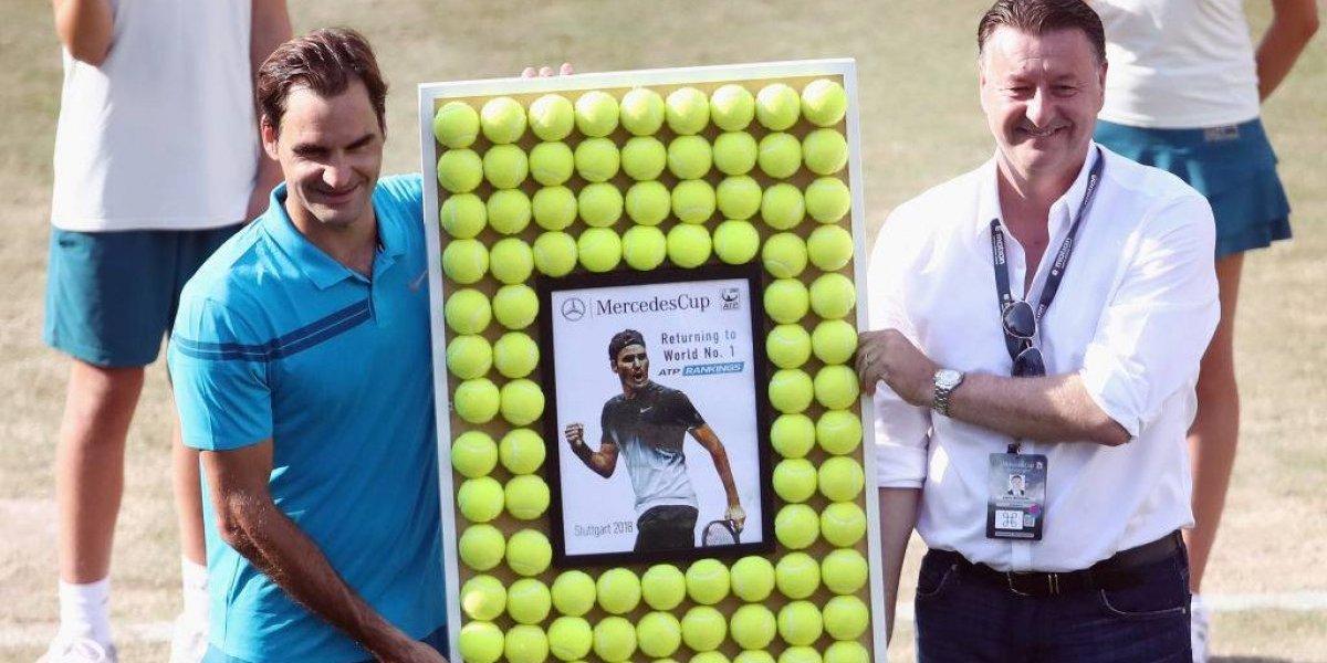 Genio inmortal: Federer recupera el número uno del mundo al meterse en la final de Stuttgart