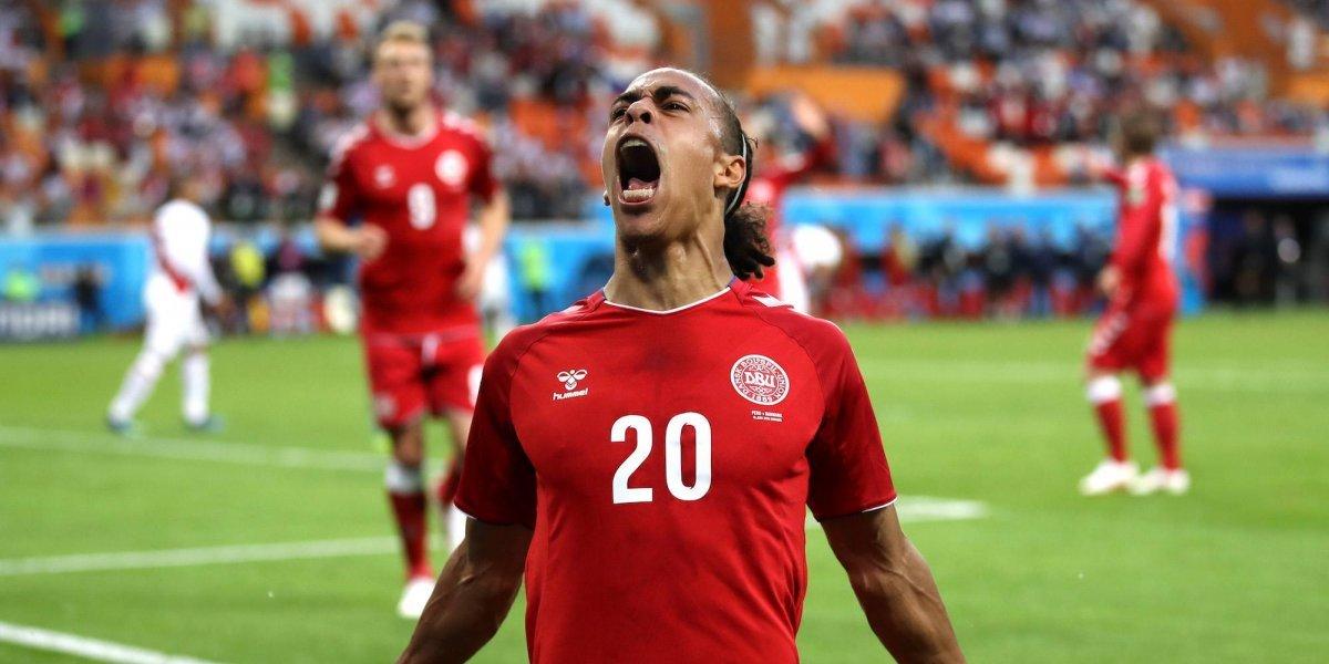 Perú debuta con derrota ante Dinamarca en Rusia 2018