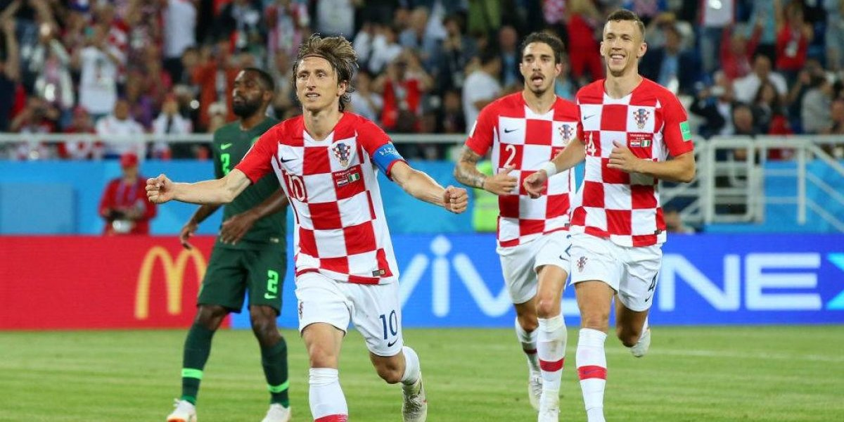 Rusia 2018: Croacia mostró jerarquía al vencer a Nigeria y le mandó un fuerte mensaje a Argentina