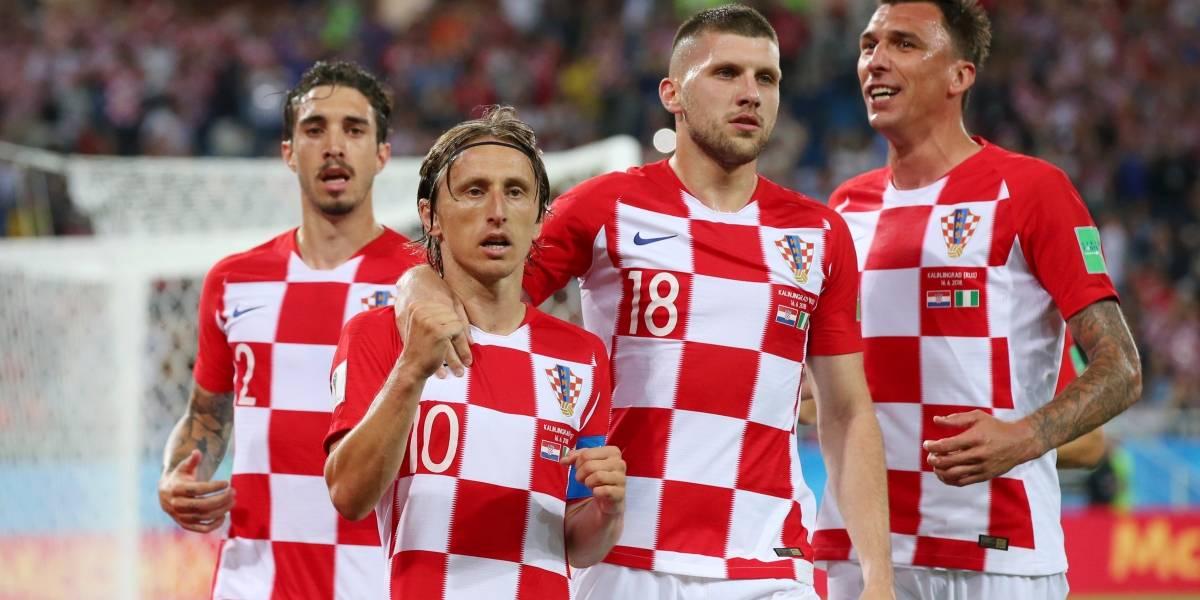 ¡Cabalgando! 'El Pony' Modric comandó la victoria de Croacia