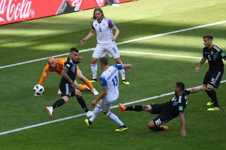 El gol de Islandia