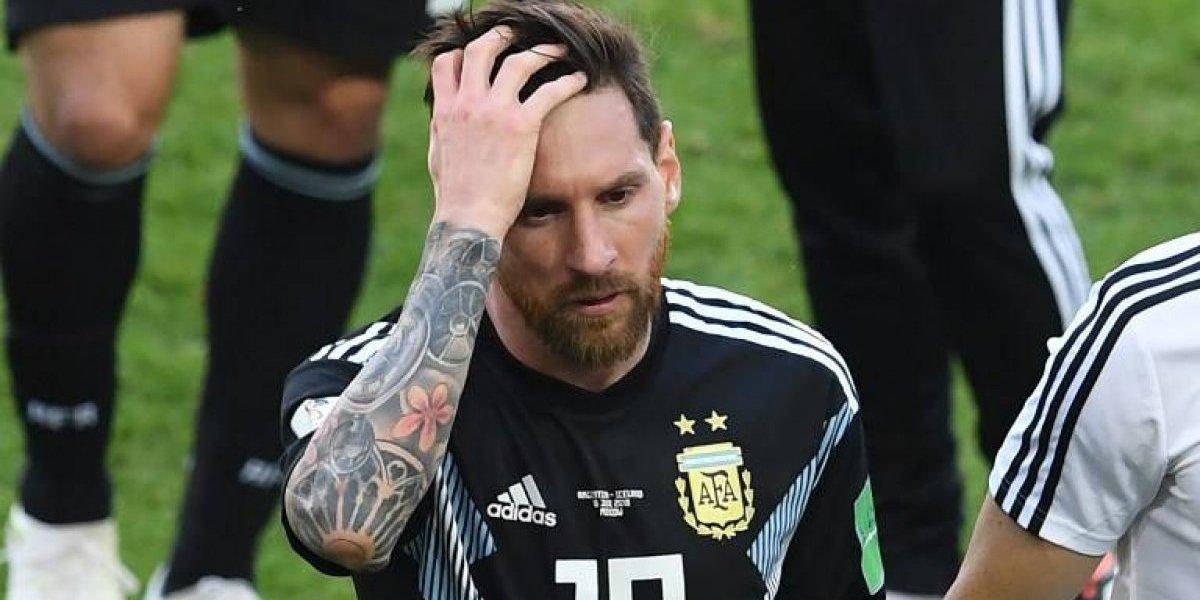 Messi falla un penal, Argentina luce impotente e Islandia rescata un punto de oro