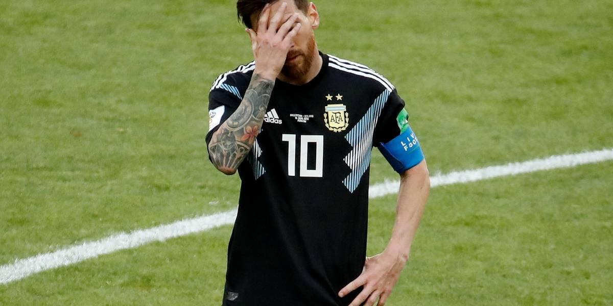 Messi perde pênalti, e Argentina e Islândia empatam em 1 a 1