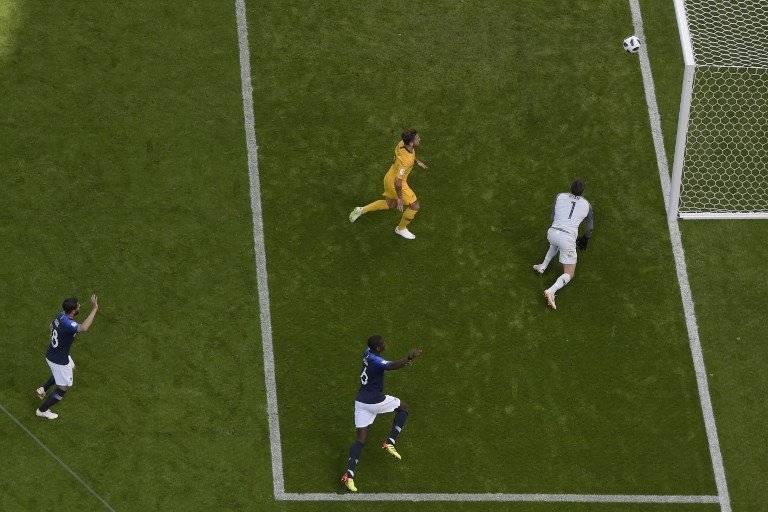 Momento del gol de Pogba