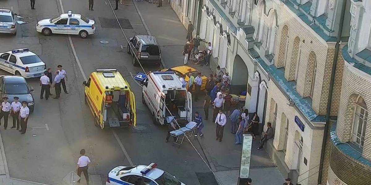 Taxi atropella a fanáticos del Mundial en Moscú
