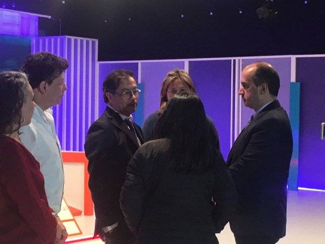 Gustavo Petro en debate