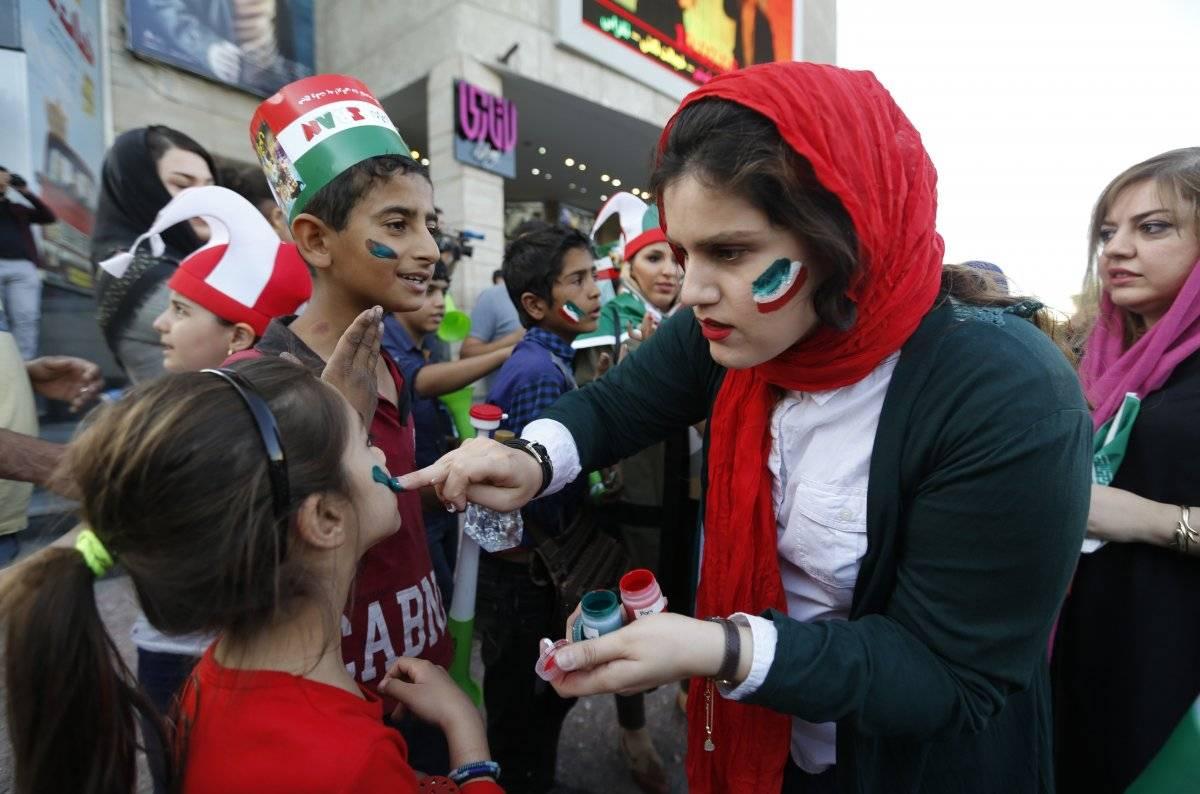 Las mujeres iraníes asistieron sin impedimento al estadio en Rusia.