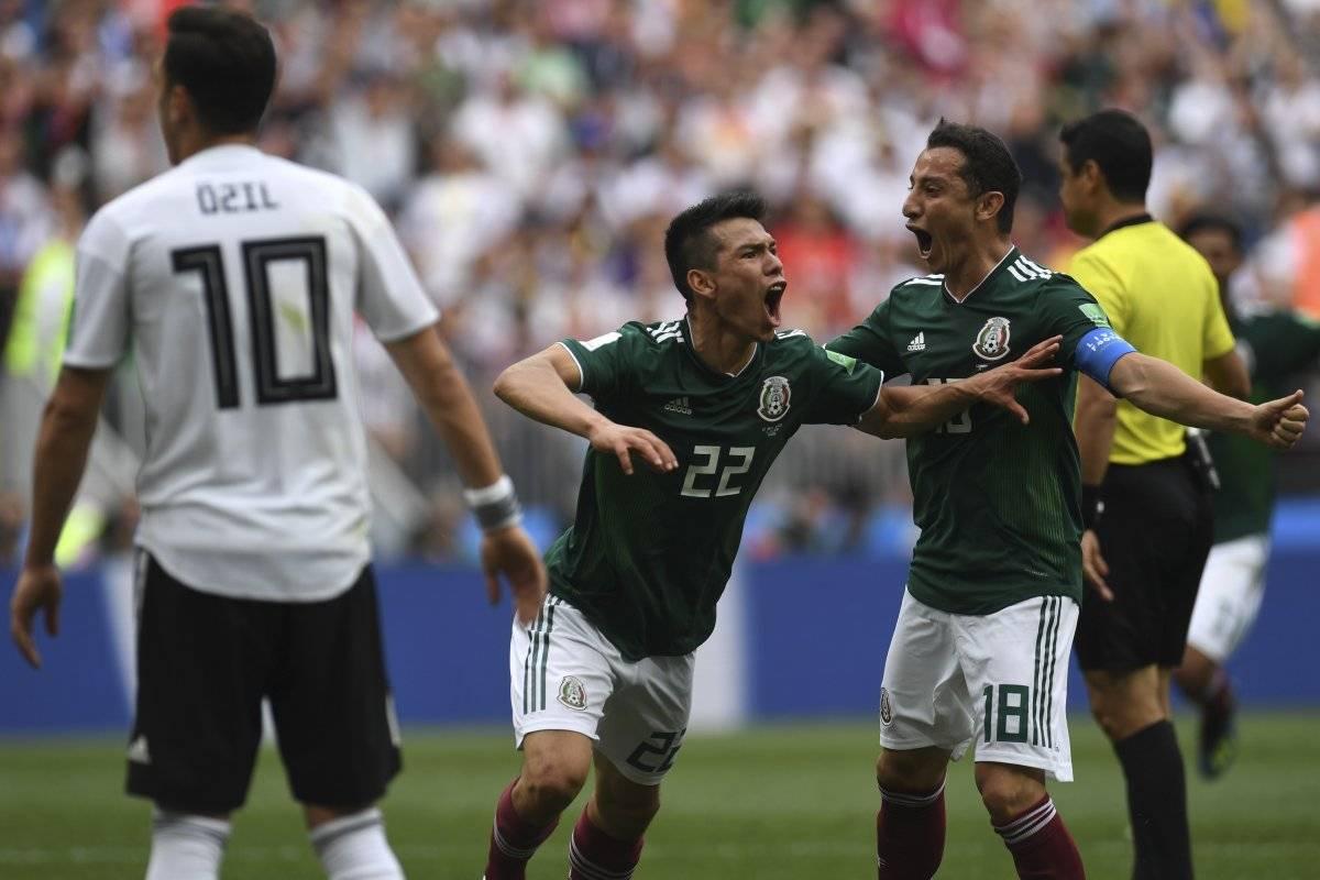Lozano anotó el tanto del triunfo para los mexicanos.