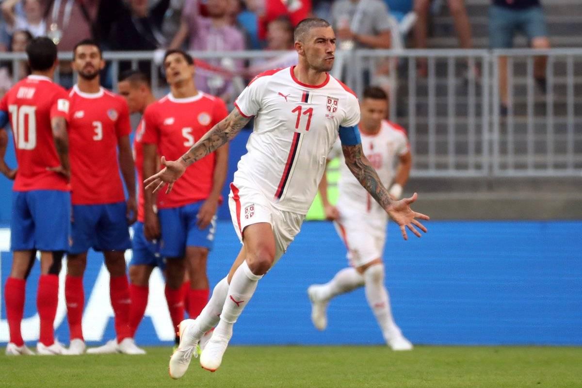 Aleksandar Kolarov - gol da Sérvia