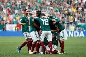 Alemanha x México - gol do México