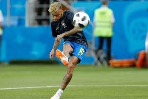 Neymar treino seleção brasileria